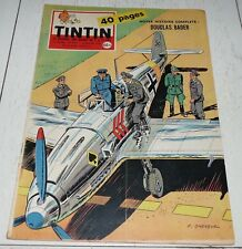 TINTIN 15/01 1959 N°534 HERGE TIBET FRANQUIN AVIATION DOUGLAS BADER ARROMANCHES
