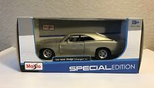 1/25 1969 Dodge Charger R/T Maisto Die Cast Special Edition Model Die-Cast