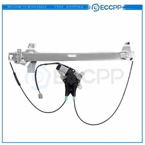 For 1992-14 Ford E150 Van Front Right Power Window Regulator With Motor