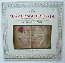 GREGORIANISCHER CHORAL 1973 ARCHIV PRODUKTION  Benediktiner - VINYL - LP