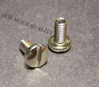 2pcs Brother PS2360 PS2470 PS2500 PS3100 PS3700 PX100 PX150 NEEDLE PLATE SCREW