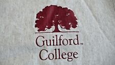 Vtg. GUILFORD COLLEGE LARGE GRAY SWEATSHIRT MADE IN USA