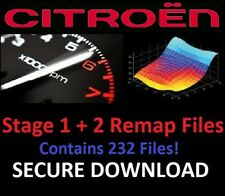Citroen ECU Chip Tuning Stage 1 2 Remap Files - 232 Files Included! Download