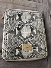 Michael Kors snakeskin print ipad holder with easle