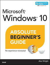 NEW Windows 10 Absolute Beginner's Guide (includes Content Update Program)