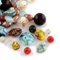 150pcs/1000g Mix Handmade Lampwork Bead Jewelry Making Loose Spacer Craft DIY