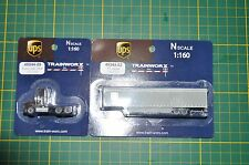 Trainworx 48044-09 Kenworth T800 / 53' Trailer 45344-02  2 set UPS NIP  Rare