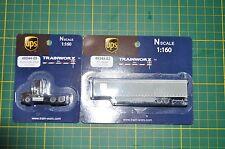 Trainworx 48044-09 Kenworth T800 / 53' Trailer 45344-02  2 set UPS NIP  Rare