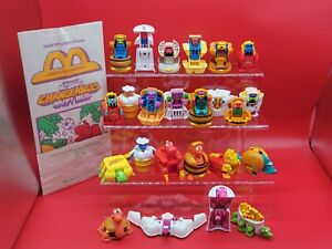 McDonald's Changeables COMPLETE SET of 24!!! MINT UNPACKAGED! w/ Happy Meal Bag