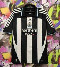 Newcastle United Fc Football Shirt Soccer Jersey Top Adidas 2007 Mens size Xl