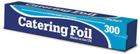 6 x Kitchen Catering Aluminium Foil Oven Roasting Grill Baking Wrap 300mm x 30m