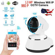 2.4G Wireless HD 960P Pan Tilt Network Home CCTV WiFi IP Camera IR Night Vision