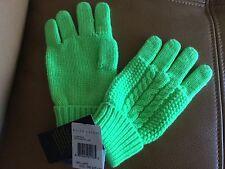 Ralph Lauren brilliant gloves size 4-6X fits larger Sz wool blend NWT$29.00