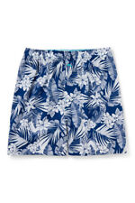 NWT Tommy Bahama Men's 2X/2XB Blue Tropical Woven Boxer Shorts Island Cotton