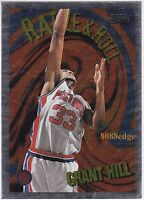 1995-96 TOPPS RATTLE & ROLL: GRANT HILL #R3 DETROIT PISTONS INSERT ALL-NBA