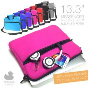 """Travel Messenger Shoulder Bag Sleeve Case for 13"""" 13.3"""" Acer Chromebook Laptop"""