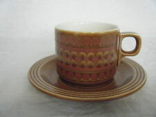 Unboxed Stoneware Hornsea Pottery Cups & Saucers