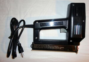 SEARS CRAFTSMAN Staple Brad Nail Gun Nailer Stapler 583 68429 (PSO005585)