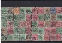 Germany early used Reichspost Stamps with good cancels Ref 14253