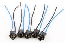 5PCS Socket Xenon Ampoule voiture LED connecteur T10/W5W/194/168/T15