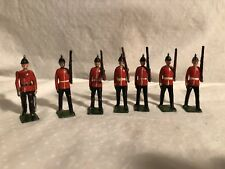 Lead Soldiers British Infantry moveable arms
