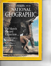 JUNE 1989 NATIONAL GEOGRAPHIC-FEATURES THE MARCH TOWARD EXTINCTION