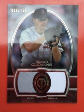 2019 TOPPS TRIBUTE ROGER CLEMENS DUAL GAME USED JERSEY CARD /150 RED SOX 💎💎
