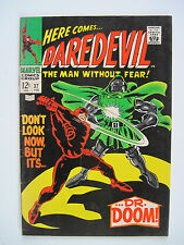 """""""DAREDEVIL"""" NO 37. FEB. 1968 VERY FINE+ CONDITION, ORIGINAL OWNER!"""