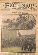 Poilus Tranchées Périscope Ruines Village Hurlus  Bataille de la Marne WWI 1915