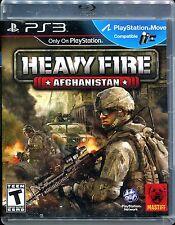 Heavy Fire: Afghanistan  (Sony Playstation 3, 2011)