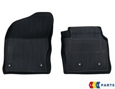 NEW GENUINE FORD TRANSIT CONNECT FRONT BLACK RUBBER FLOOR MATS SET RHD 2263239