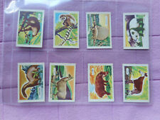 TRADE ISSUE - KELLOGGS - FULL SET 15 CARDS - STRANGE ANIMALS
