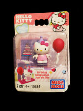 2011 Mega Bloks Hello Kitty - Birthday Surprise 7 Piece Set #10814 NEW IN PACK!