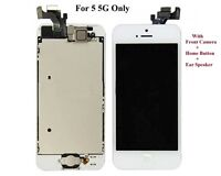 WHITE LCD Touch Screen Display Digitizer Assembly Replacement for iPhone 5 5G