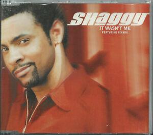 SHAGGY - IT WASN'T ME (FEAT. RIKROK) / DANCE & SHOUT (REMIX) 2001 EU CD ORVILLE