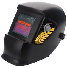 New Pro Solar Auto Darkening Welding Helmet Grinding Welder Mask Fashion Black