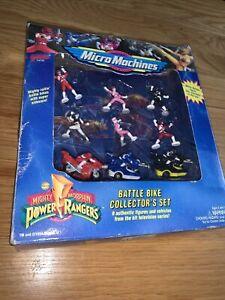 Power Rangers Battle Bike Collector's Set RARE Micro Machines