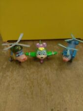 Vintage Budgie The Little Helicopter Plastic Toys - chuck, Pippa + Lionel T305