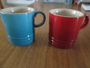 2 Brand New Le Creuset Coffee Mugs / Cup