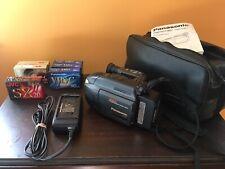Panasonic Pv-L558 Palmcorder Vhs-C PalmSight Video Camcorder Vintage Blank Tapes
