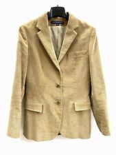 Ralph Lauren Giacca donna in velluto multirighe colore beige 26581