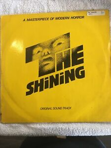 *THE SHINING* ORIGINAL VINYL LP 1980 Moog Synthesizer Kubrick - Rare Excellent