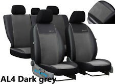 TOYOTA AVENSIS Mk2 2001-2009 ARTIFICIAL LEATHER & ALICANTE TAILORED SEAT COVERS