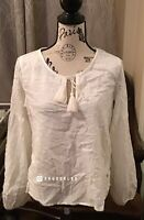 NWT Abercrombie & Fitch Women's Top, White, Small