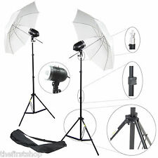 Kit Illuminatore Flash DynaSun 2xSDW80 Cavalletto Stativo Lampada Flash Ombrello