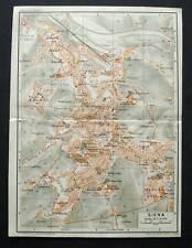 Antica Stampa=Topografica=SIENA=Scala1:11000 -1907c