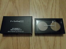 MAC COLOURIZATIONS EYE SHADOW X 2 DUO PALETTE * DOUBLE FEATURE 6 * NIB 2.8g