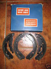 NEW BRAKE SHOES - FITS: VOLKSWAGEN PASSAT & AUDI 80 AUTOMATIC (1973-79)