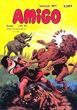 RARE EO REVUE MENSUELLE AMIGO N° 1 ( NOUVELLE SÉRIE 1980 ) - CAPITAN TRUENO
