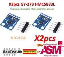 2pcs GY-273 QMC5883L Triple Axis Compass Magnetometer Sensor HMC5883L Compatible